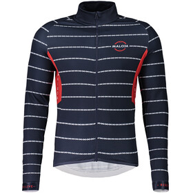 Maloja PushbikersM.1/1 Longsleeve Fietsshirt Heren, mountain lake